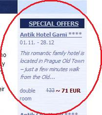 special offer detail